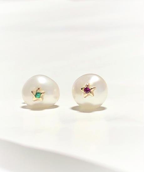 ManiheeL JEWELRY  l baroque pearl earring