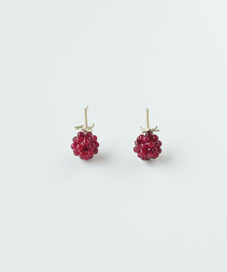 Anima uni | Raspberry earrings