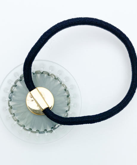 hArch    hair tie  clear × gray