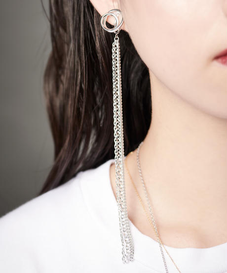 MASANA | encounter chain earrings