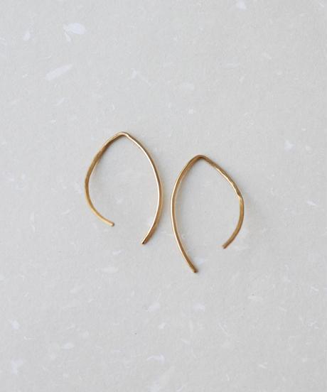 YUKA HOJO | Ripple pierced earrings