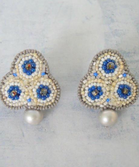 kaori shimomura   pierce or earrings Giverny
