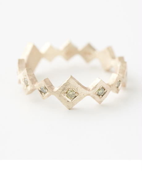 cherrybrown   gold ring (Eternity)