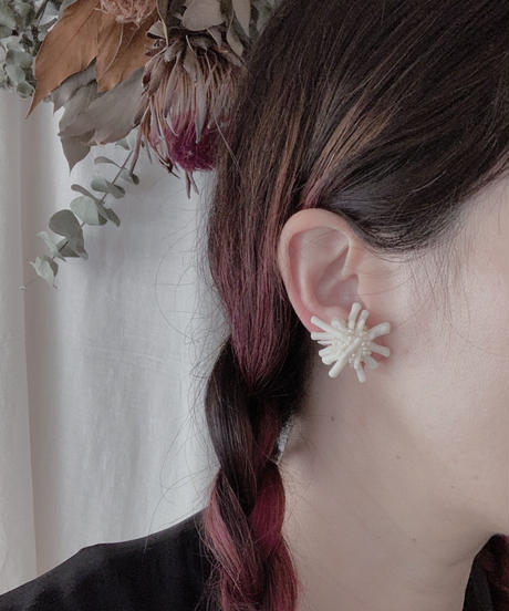 valo | forest pierce/earring M