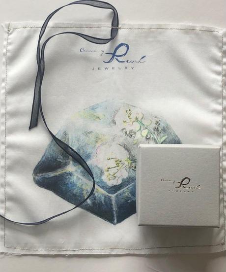 Curva y Ruri JEWELRY | Garden quartz earring