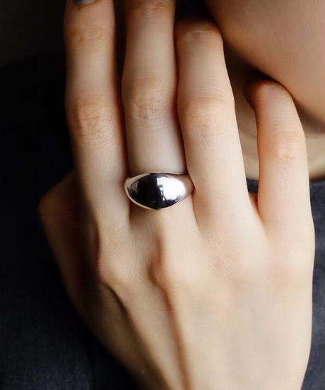 AVATE   〈silver925〉Plump ring 7~19号[wide]ぽってりシルバーリング
