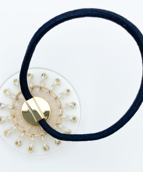hArch |  hair tie  clear × beige