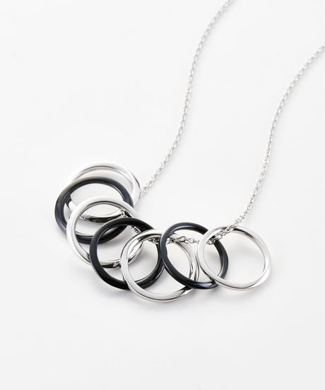 MASANA |   seven mobius rings /necklace