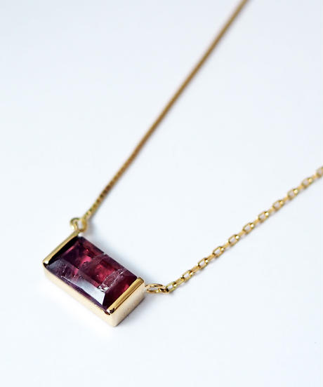 LiniE | Zebra Tourmaline Tiny Necklace