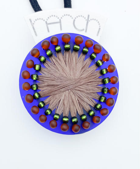 hArch |  hair tie  clear blue × brown