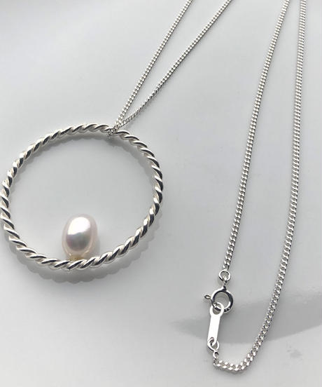 hHOME | HH-5 | circle big necklace