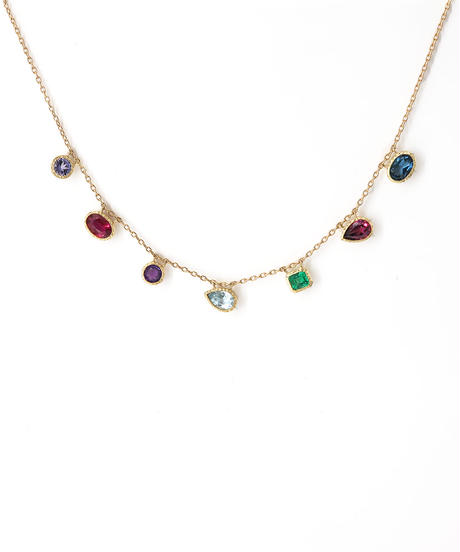 HiMARI | Upcycle Gemstone Necklace 7石