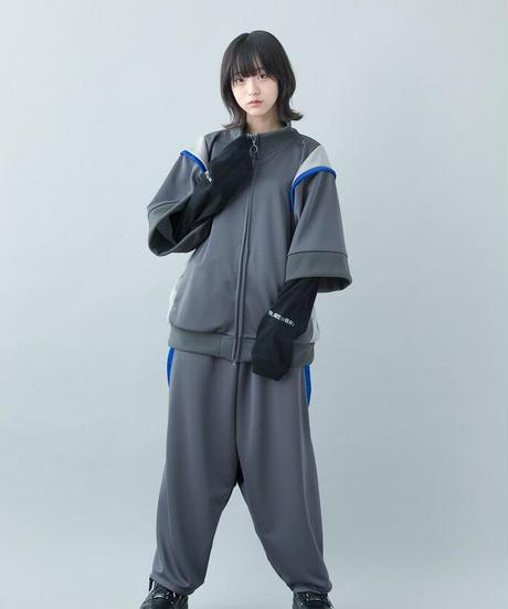 【21-22AW collection受注予約商品】神主ジャージ ( gray , black )
