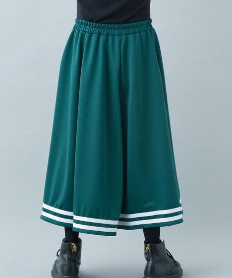 【21-22AW collection受注予約商品】ジャージスカート ( green , black )