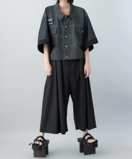 【21SS 受注予約商品】ナイロンスリーブGジャンEX ( black )