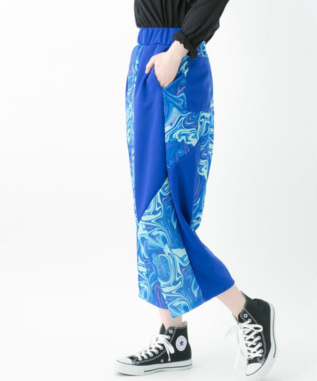 Marble pants (RED , BLUE , BLACK)