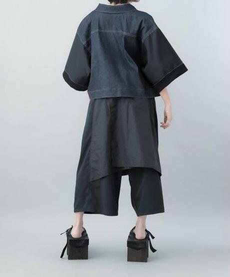 【21SS 受注予約商品】ナイロンスリーブGジャン ( indigo)