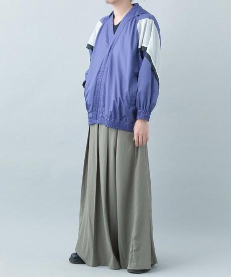 【21-22AW collection受注予約商品】キモノウィンドブレーカー ( purple , black )
