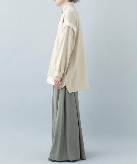 【21-22AW collection受注予約商品】半襟プルオーバー ( beige , blue , black )