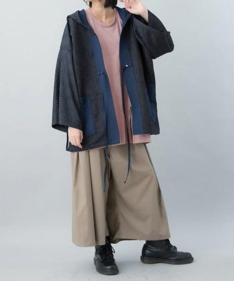 【21SS 受注予約商品】祭りローブ( gray , navy )