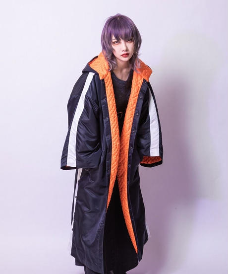 Over coat (BLACK , GRAY)