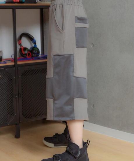 【21ss番外編『Daydream Gamer』シリーズ 受注予約商品】十字キーパンツ (1.beige / 2.gray / 3.black )