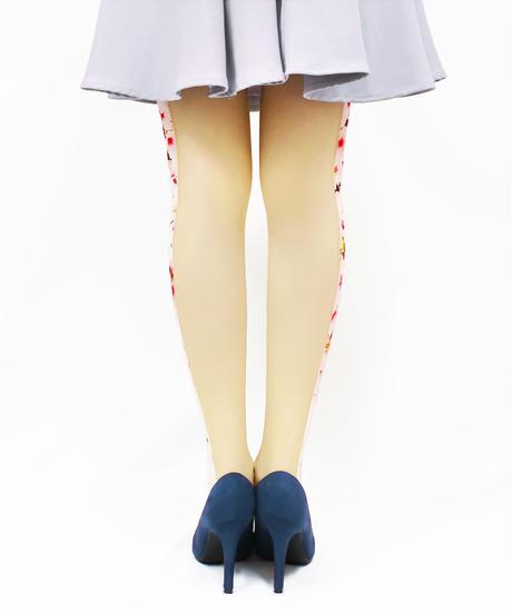 【オリジナル】8T-0177【私乃世界-桜】タイツ