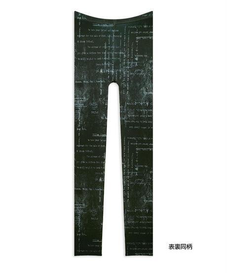 【復刻】Riybes LG-0009【レター-黒】レギンス