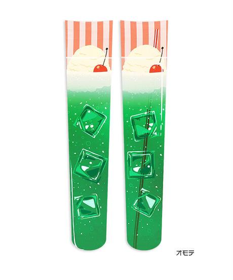 【オリジナル】OV-0103【クリームソーダ】オーバーニー