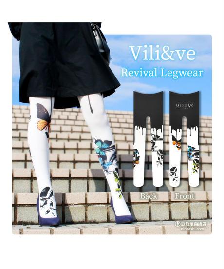 【復刻】Vili&ve 8T-0013【幻覚】タイツ
