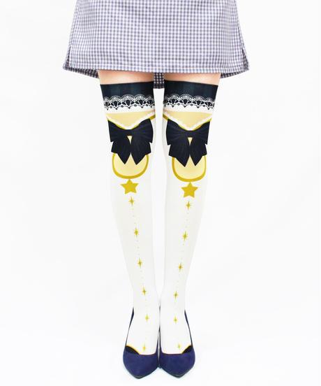 【復刻】MerryGORound OV-0155【魔法少女(黒)】オーバーニー