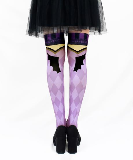 【復刻】MerryGORound OV-0164【小悪魔(紫)】オーバーニー
