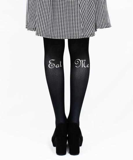 【復刻】MerryGORound 8T-0145【カトラリー(黒)】タイツ