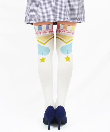 【復刻】MerryGORound OV-0156【魔法少女(虹の裾)】オーバーニー