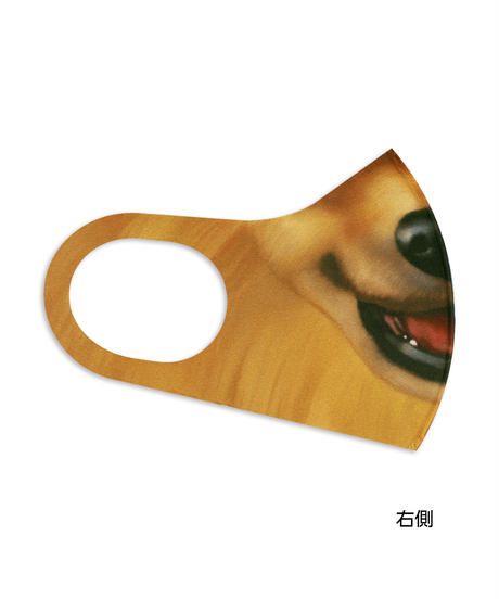 【オリジナル】MS-0206【ポメラニアン】マスク