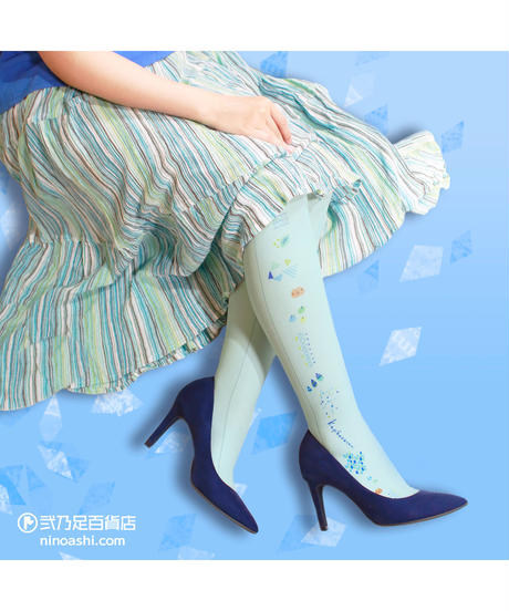 【キャラクター】カピバラさん 8T-0109【手描き風】プリントタイツ