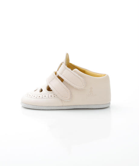 W Strap Shoes : c/# Beige