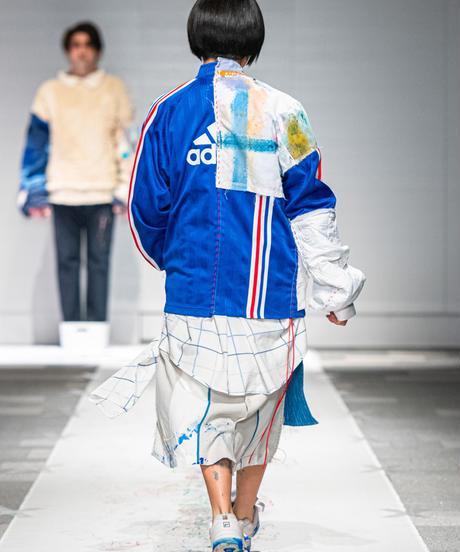 """""""純真異装交遊"""" pure and playful jersey, reconstructed from mix vintages"""
