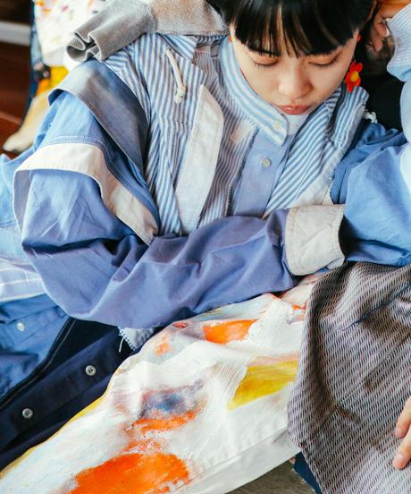 """""""天使のフリをする"""" Shirt Coat pretending to be an angel"""