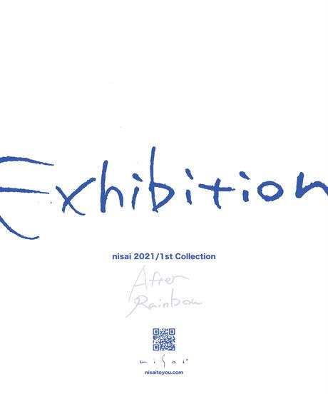 """【予約券】nisai 2021 1st Collection """"AFTER RAINBOW"""" 展示入場券"""