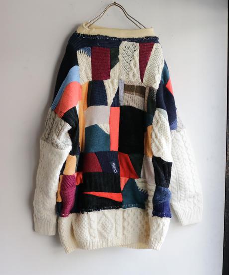 """""""パウル・クレーに敬愛を込めて pt.2"""" Rebuild Knit inspired by Paul Klee pt.2"""