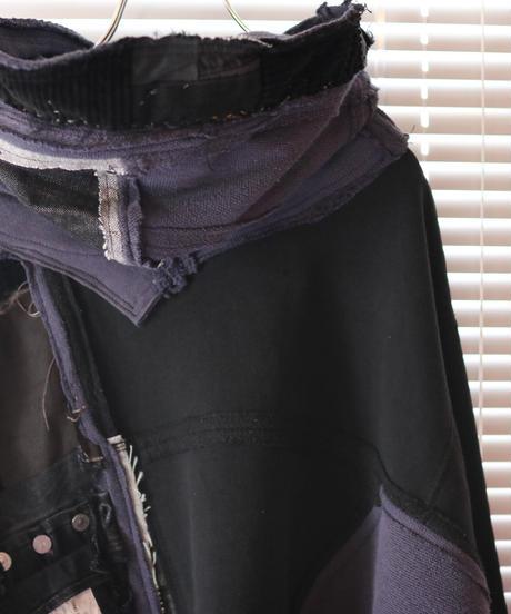 """""""BADBADNOTGOOD"""" Grunge Black Hoodie rebuild by vintages"""