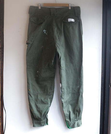 """""""非戦2"""" inspired by nowars, Based on vintage Military pants"""