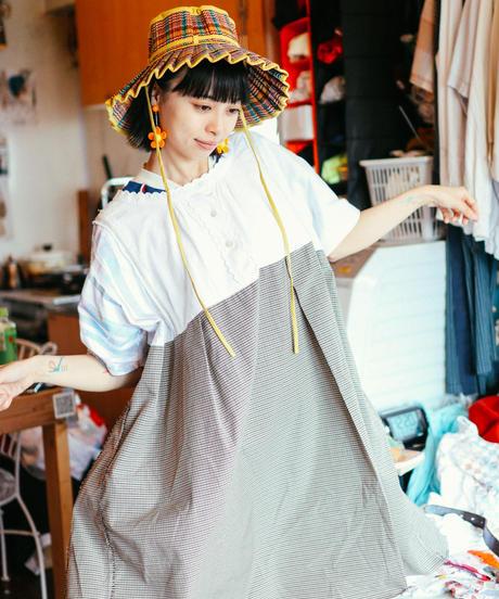 """""""雨が上がったらお出かけしましょう"""" Let's go out when it rains Dress, rebuild by vintages"""