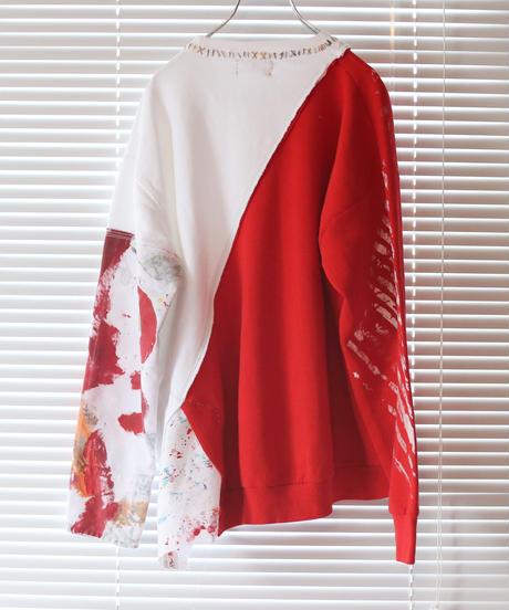 """""""色彩に変わる途中の赤"""" Red on its way to becoming a color"""