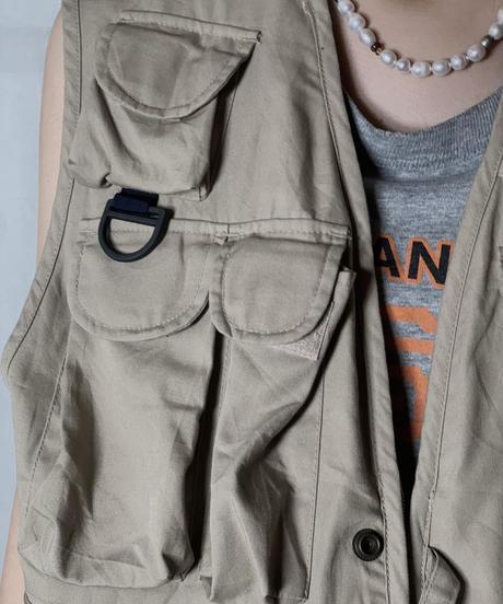 【USED】 Fishing Vest /210708-005