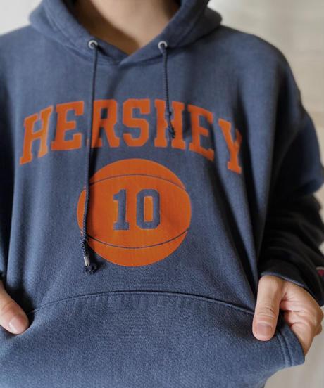 【USED】  Champion Reverse Weave Hoodie HERSHEY/210902-050