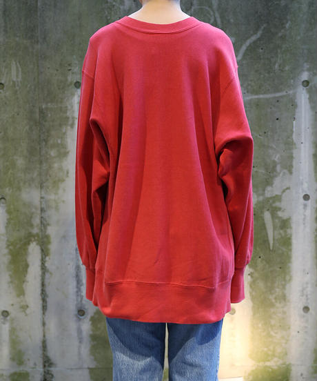 [USED] Champion Sweat Reverse Weave 8 (Red)