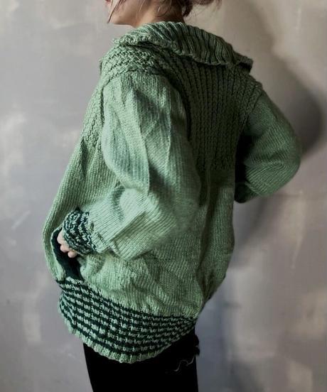 【USED】Knit Cardigan ② / 201118-003