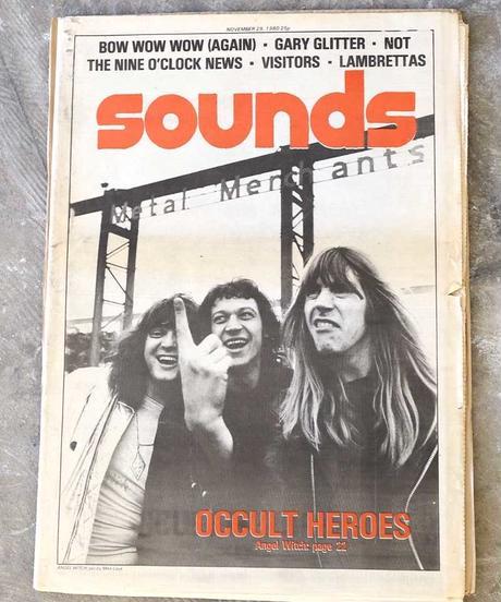 sounds magazine(november/29/1980:表紙 ANGEL WICH)